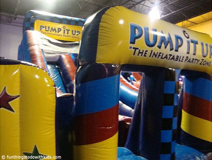 Pump Up Your Kid S Birthday Party At Pump It Up In Leesburg