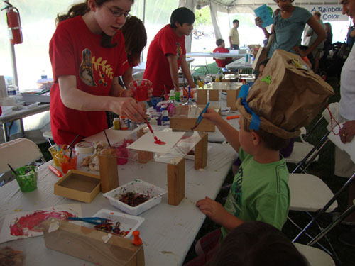 Children's Art Tent